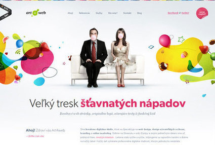 20 Inspirational Examples of Websites with Creative Headers - Inspirations | Web Design & Development | Scoop.it