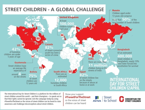 Street World Map.Map Street Children Around The World Classr