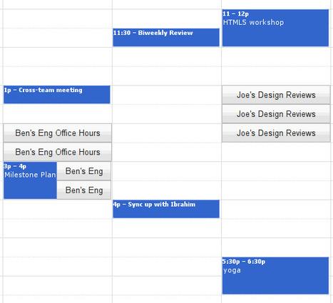 Google Agenda - Créneaux horaires: affichez vos disponibilités à vos collègues | Descary.com | Outils et  innovations pour mieux trouver, gérer et diffuser l'information | Scoop.it
