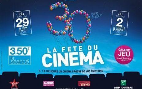 Fête du cinéma : quatre jours à 3,50 euros la séance - le Parisien   Actu Cinéma   Scoop.it