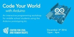 Code Your World with Arduino | Arduino Focus | Scoop.it