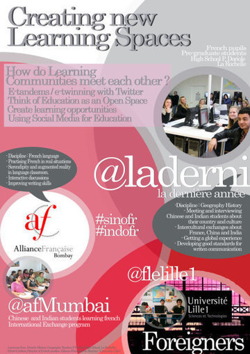 Creating some new learning space : etandems   Etandems, exemples et conseils   Scoop.it