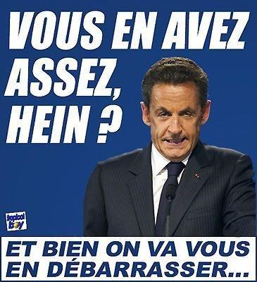Vous en avez assez de Sarko? | Sarkozy Dégage | Scoop.it