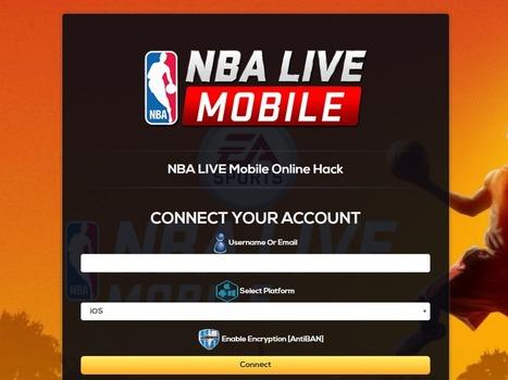 nba live mobile hack ios
