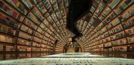 Ecrivains, dessinateurs, architectes... leurs bibliothèques idéales | Art et littérature (etc.) | Scoop.it