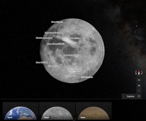 Google Maps Now Lets You Explore Mars And The Moon, If You Know Where To Click | TechCrunch | Navigate | Scoop.it
