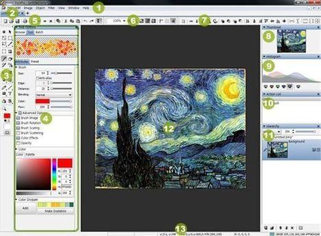Hornil StylePix, completo software gratuito para dibujo y edición de imágenes | Pedalogica: educación y TIC | Scoop.it