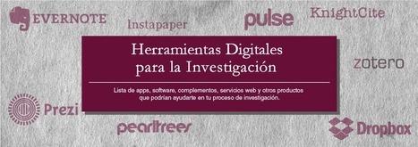 Herramientas Digitales Para La Investigación - Biblioteca Daniel Cosío Villegas | Elearning | Scoop.it