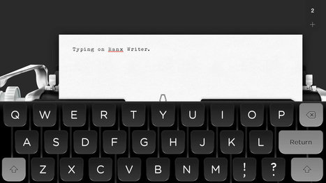 Tom Hanks just released a typewriter app for iPad - The Verge | Edtech PK-12 | Scoop.it