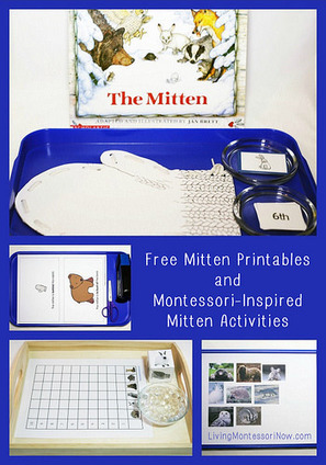 Free Mitten Printables and Montessori-Inspired Mitten Activities | Montessori Inspired | Scoop.it