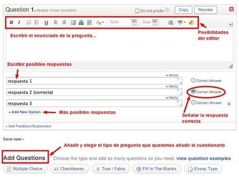 Cómo elaborar un cuestionario de forma online   Nuevas tecnologías aplicadas a la educación   Educa con TIC   Bibliotecas Escolares Argentinas   Scoop.it