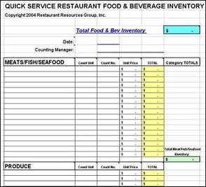 Download Stocktake Templates in Excel for sprea...