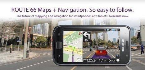 Route 66 Maps - le navigateur GPS en réalité augmentée   Códigos QR y realidad aumentada en educación   Scoop.it