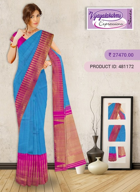 dd6ff39b1 buy pure silk sarees online in India  in Pure Silk Sarees Online ...