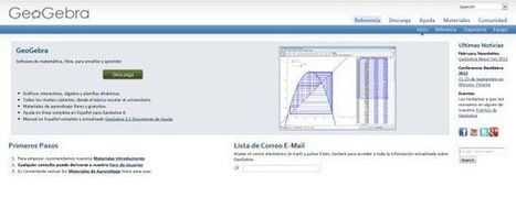 GeoGebra, para el aprendizaje de matemáticas, ya disponible en la web | Animació amb Stop Motion | Scoop.it