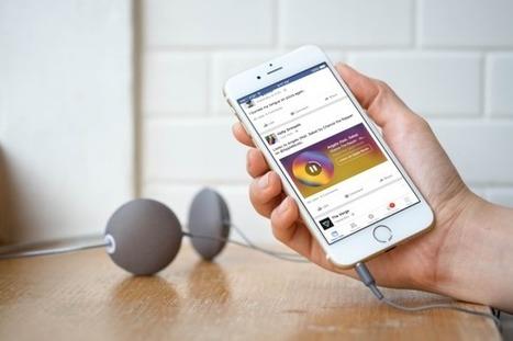 Facebook : intégration optimisée des contenus Spotify et Apple Music - Blog du Modérateur | Paper Rock | Scoop.it