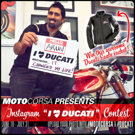 |I ❤ Ducati Instagram Contest! | MotoCorsa.com | Ductalk Ducati News | Scoop.it