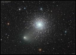 La cometa C/2013 A1 e l'ammasso globulare NGC362: prosegue il ... - Meteo Web | astronotizie | Scoop.it