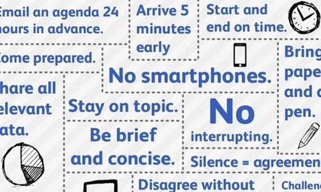 A Handy Visual Guide To Running Effective Meetings [Infographic]   Pedalogica: educación y TIC   Scoop.it