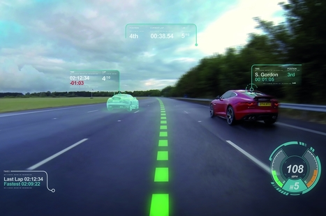 Jaguar Land Rover Virtual Windscreen Concept | 4D Pipeline - trends & breaking news in Visualization, Virtual Reality, Augmented Reality, 3D, Mobile, and CAD. | Scoop.it