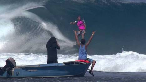 Defining Moments: Jeremy Flores' Perfect 10 - Billabong Pro Tahiti 2013 | TAHITI Le Mag | Scoop.it