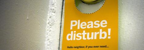 Neighbor Doorknob Hanger | Urban Life | Scoop.it