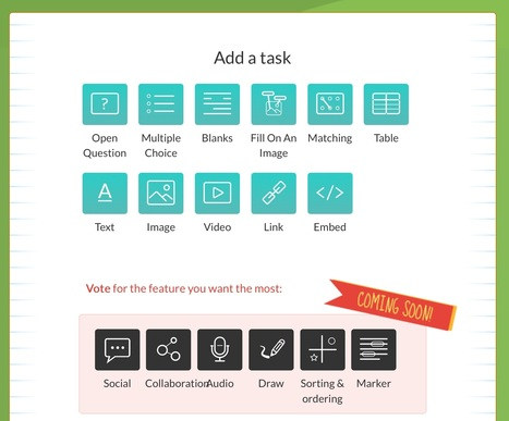 Create interactive worksheets with wizer.me | Creative Tools... and ESL | Scoop.it