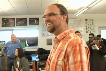 """Aaron Vanderwerff Named """"Inspirational Teacher of the Year""""   dream. design. make.   Scoop.it"""