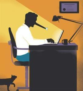 Comment le numérique a ébranlé notre rapport à la vérité | DocPresseESJ | Scoop.it