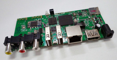 Rockchip RK3128 TV Box Boards with 512MB RAM, 8