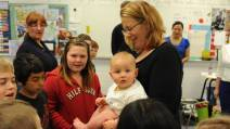 Baby teaches students life lessons - TheChronicleHerald.ca   Practice Compassion   Scoop.it