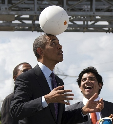 Obama shoots, hopes to score in Africa with 'socket ball' | Issues Effecting Transformational Learning | Scoop.it