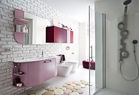 10 hermosos cuartos de baño decorados co...