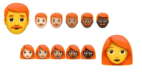 Redheads Rejoice: We May Finally Be Getting Ginger Emojis | Kickin' Kickers | Scoop.it