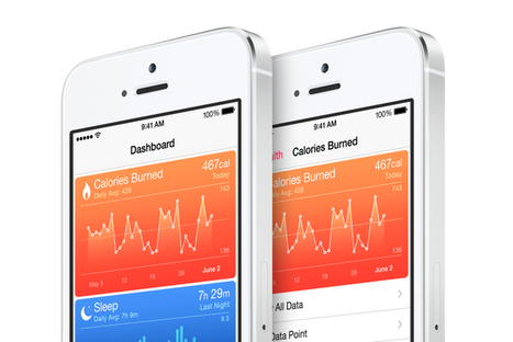 Apple adds a step-counter, caffeine tracking to iPhones with iOS 8 | healthcare technology | Scoop.it