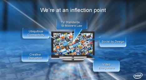 CES 2013 : Intel veut révolutionner la TV connectée | Télevision & Digital | Scoop.it