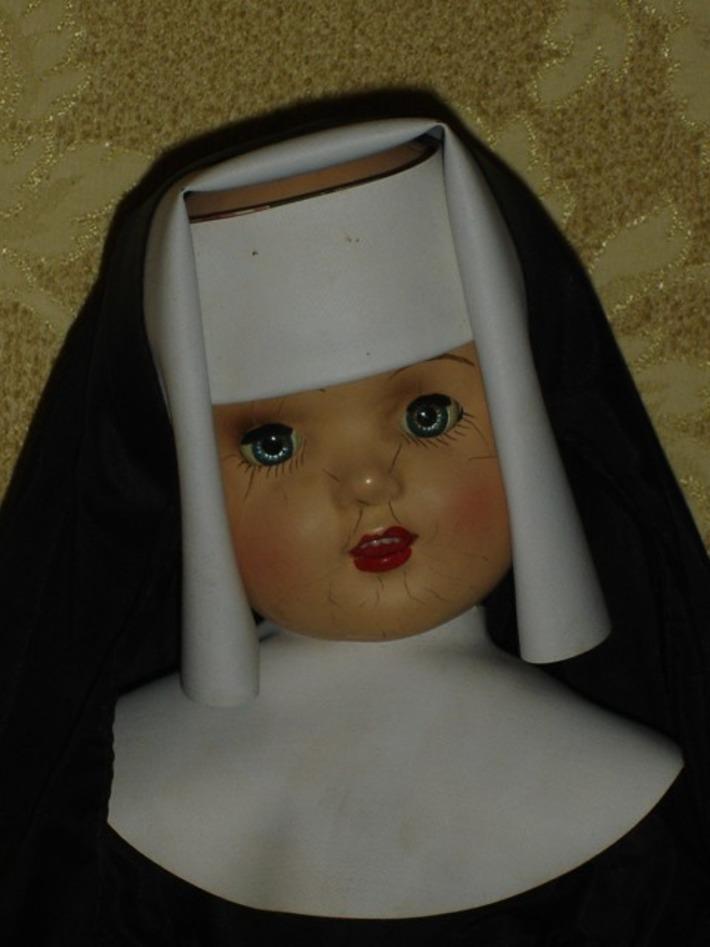 Vintage Large composition Nun Doll All Original | Antiques & Vintage Collectibles | Scoop.it