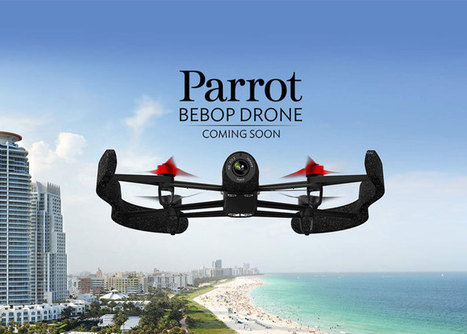 Parrot Fires Another Shot In The Drone Wars With The Bebop Drone | Popular Airsoft | Airsoft Showoffs | Scoop.it