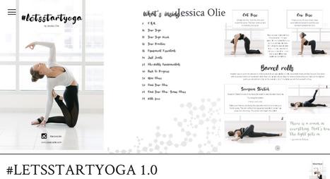 Jessica Olie vous permet de démarrer le téléchargement gratuit de Yoga PDF | Guide de perte de fitness | Prenez-le