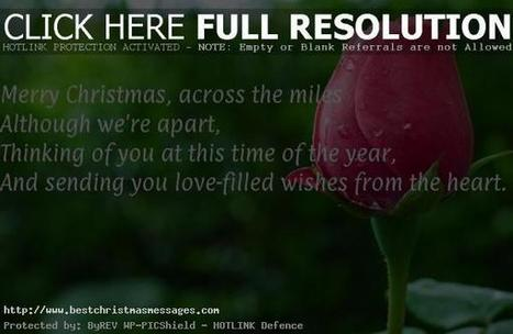 Short Christmas Text Messages For Love Quotes