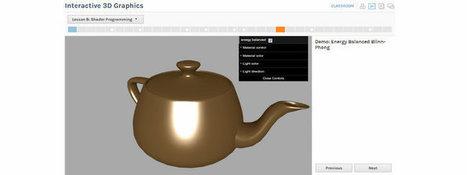 WebGL Course – Interactive 3D Graphics by Eric Haines – Part 2 | opencl, opengl, webcl, webgl | Scoop.it