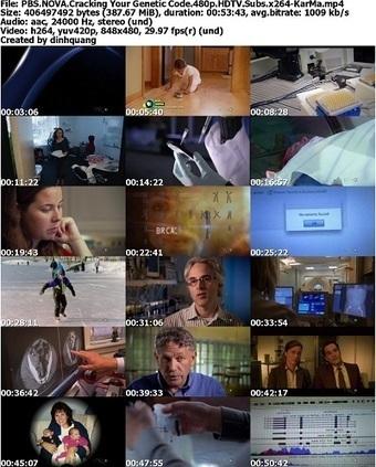 PBS - NOVA: Cracking Your Genetic Code (2012) HDTV 480p x264-KarMa - Free Direct Download Documentaries | All Things NOVA | Scoop.it