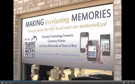 QR Codes On Headstones Give Cemeteries A High-Tech Update | Genealogy Technology | Scoop.it