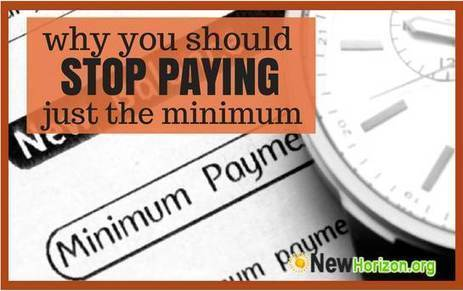 Why You Should Never Pay Just the Minimum Amount Required by Your Card Issuer | Money Savings to a better Life | Scoop.it