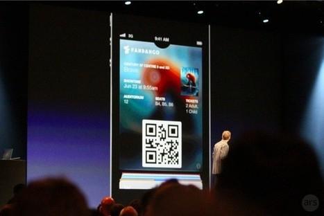 Passbook : La nouvelle application d'Apple intègre les QRcodes | J'aime la mobilité et la techno | Scoop.it