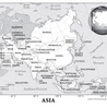 Asia, North America and South America