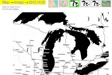 Map → Images : Stamen | Map@Print | Scoop.it