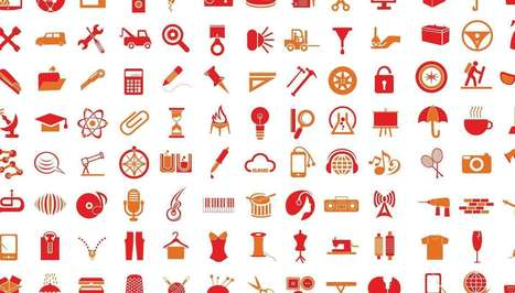 Free Download: 200 Vector Icons | Web Development & Design | Scoop.it