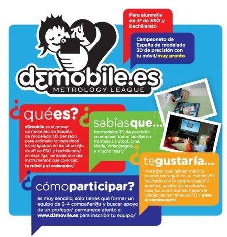Educación tecnológica: D3MOBILE Metrology League: Innovación TIC | Las TIC y la Educación | Scoop.it