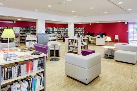 Deux bibliothèques parisiennes couronnées par les Prix Livres Hebdo - Paris.fr | Aménagement des espaces et nouveaux services en bibliothèque | Scoop.it